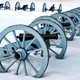 Artillery War Canons at Valley Forge National Park - PhotoDune Item for Sale