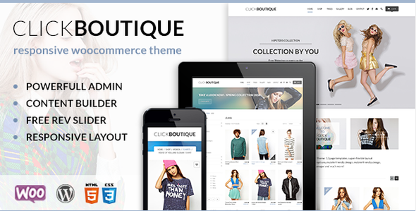 ThemeForest Click Boutique WordPress WooCommerce Theme 8001338