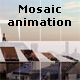 Mosaic animation with custom image and logo - ActiveDen Item for Sale