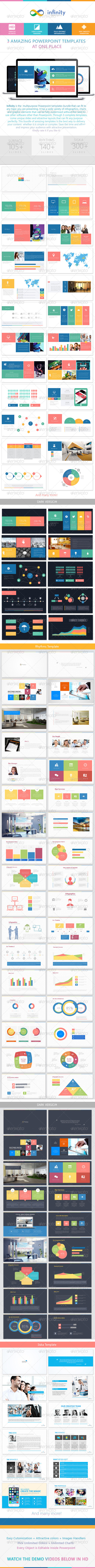 GraphicRiver Infinity 3 Powerpoint Bundle 8051037