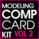 Model Comp Card Template Kit Vol. 2 - GraphicRiver Item for Sale