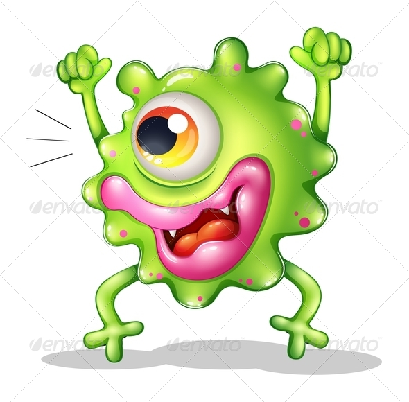 GraphicRiver A Very Excited One-Eyed Monster 8051295