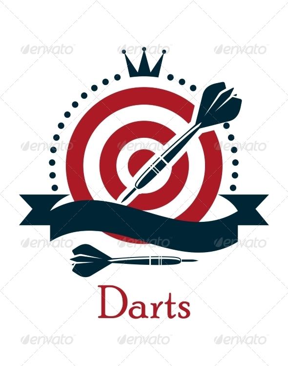 GraphicRiver Darts Championship Emblem 8051299