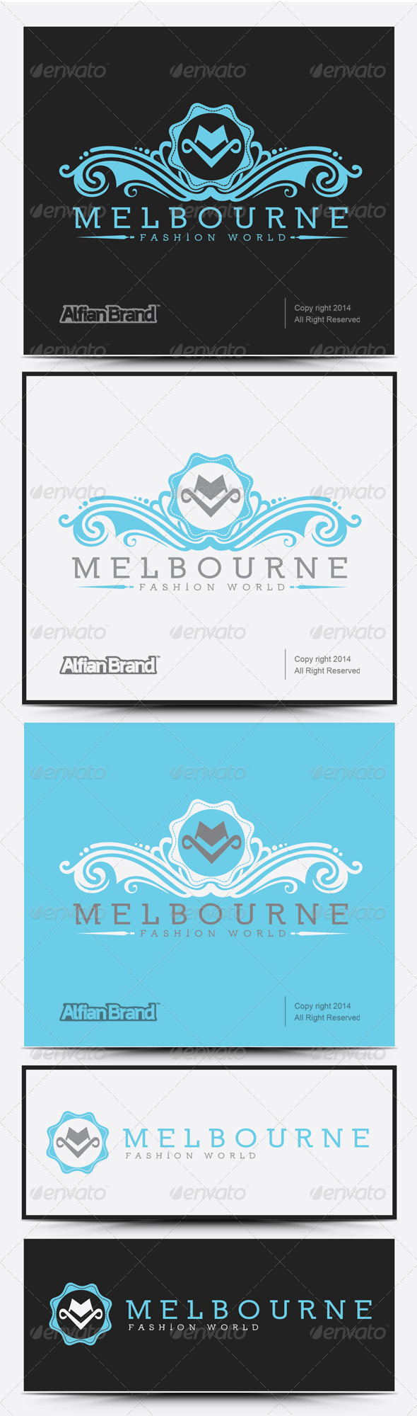 GraphicRiver Melbourne Logo 8051438