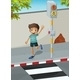 Boy at the Crosswalk  - GraphicRiver Item for Sale