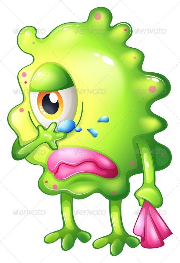 GraphicRiver Very Sad Monster 8051509
