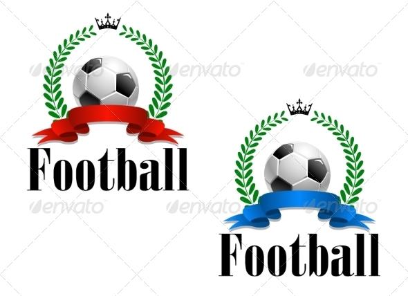 GraphicRiver Football Emblem or Label 8051520