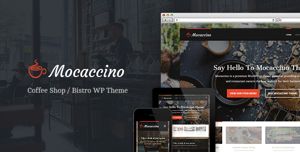 Mocaccino - WordPress Theme For Restaurants - Restaurants & Cafes Entertainment