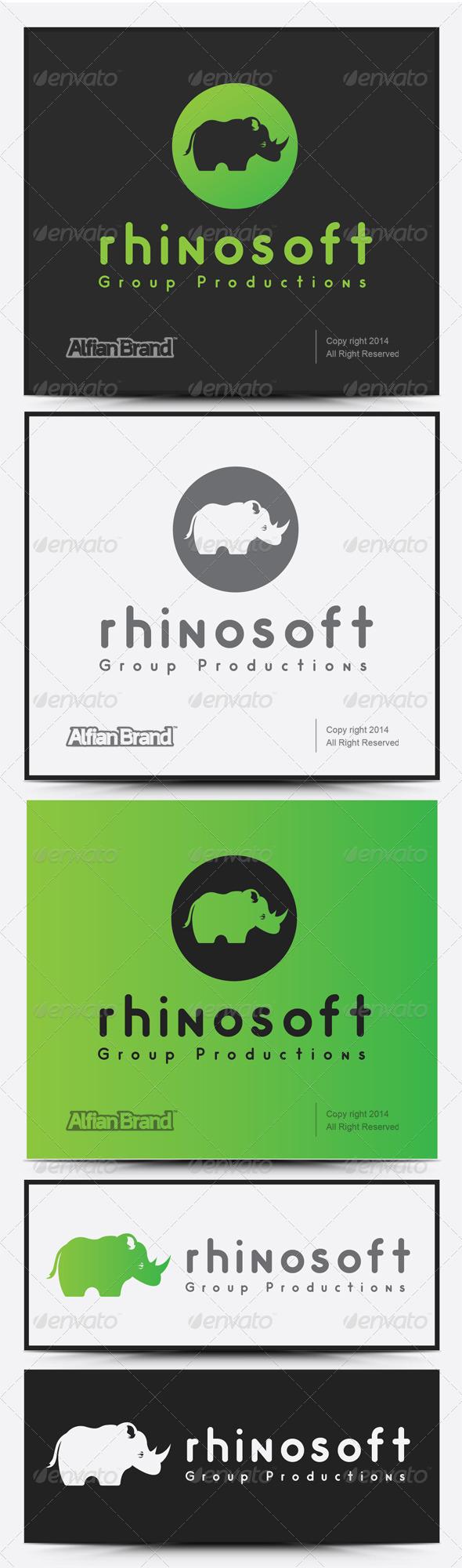 GraphicRiver Rhino Soft Logo 8051588