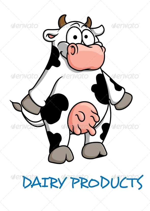 GraphicRiver Cartoon Cow 8051628