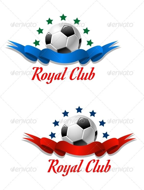 GraphicRiver Royal Club Soccer Championship Emblem 8051640