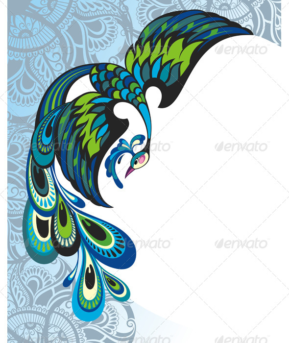 GraphicRiver Peacock 8051773