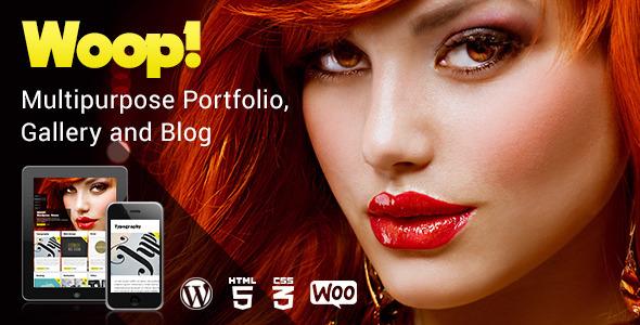 ThemeForest Woop Multipurpose Portfolio Gallery and Blog 7969675