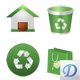 Green Environment Icons - GraphicRiver Item for Sale