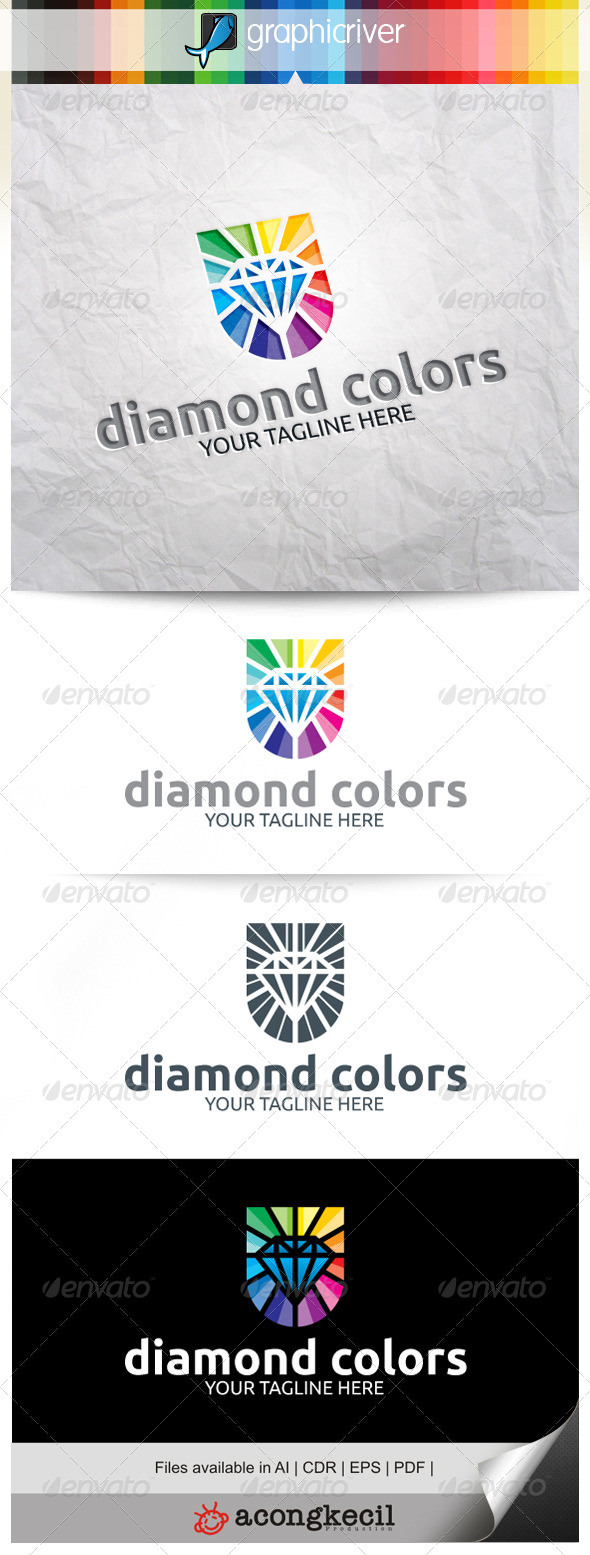 GraphicRiver Diamond Colors 8052452