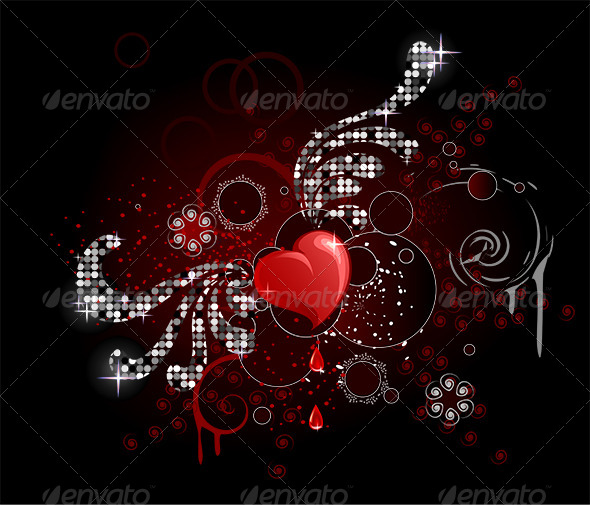 GraphicRiver Glamour Heart 8052646