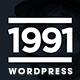 1991 - Creative Wordpress Theme