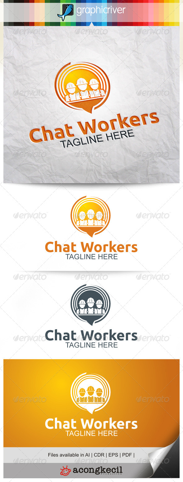 GraphicRiver Chat Workers 8052729