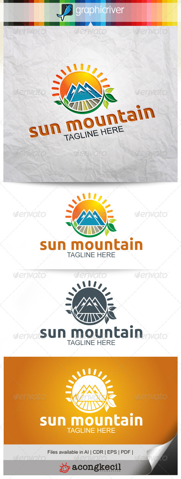GraphicRiver Sun Mountain V.2 8052902