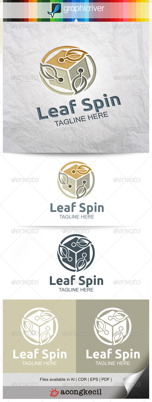 GraphicRiver Leaf Spin V.2 8053547