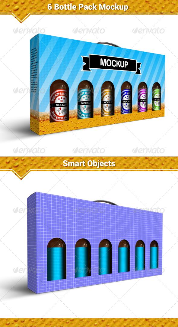 GraphicRiver Beer Pack Mockup 8045899