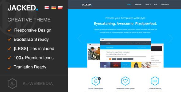 ThemeForest Jacked Creative Wordpress Theme 7873592