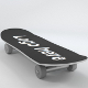 Skateboard (UV-unwrapped) - 3DOcean Item for Sale