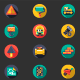 Construction Flat Icons - GraphicRiver Item for Sale