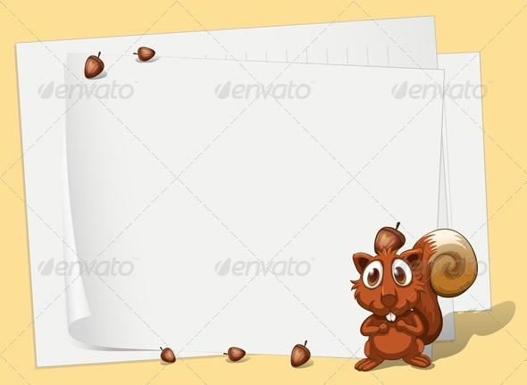 GraphicRiver Squirrel 8054366