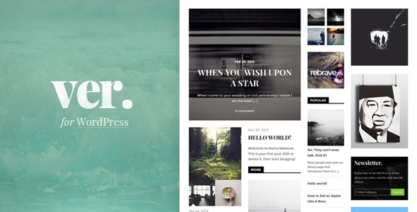 ThemeForest Versatile Magazine Theme Focused on Content 8054526