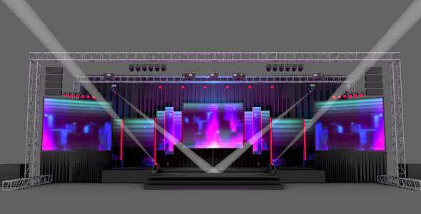 stage design pack by holution 3docean