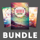 Summer Beach Flyer Bundle Vol.01 - GraphicRiver Item for Sale