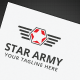 Star Army Logo - GraphicRiver Item for Sale