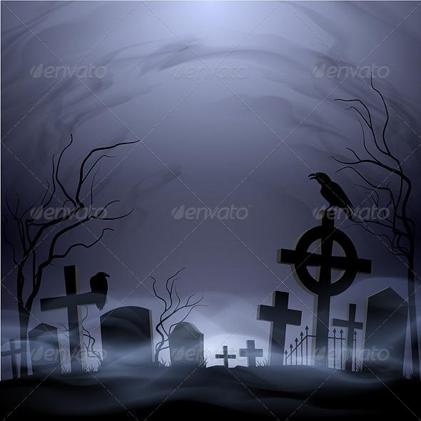 GraphicRiver Cemetery 8055694