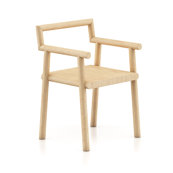 Wooden Chair 8 - 3DOcean Item for Sale