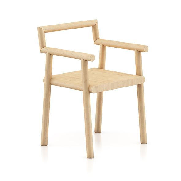 3DOcean Wooden Chair 8 8055705