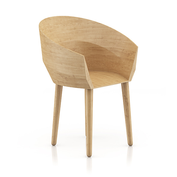 3DOcean Wooden Chair 9 8055717