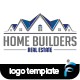 Home Builder Logo - GraphicRiver Item for Sale