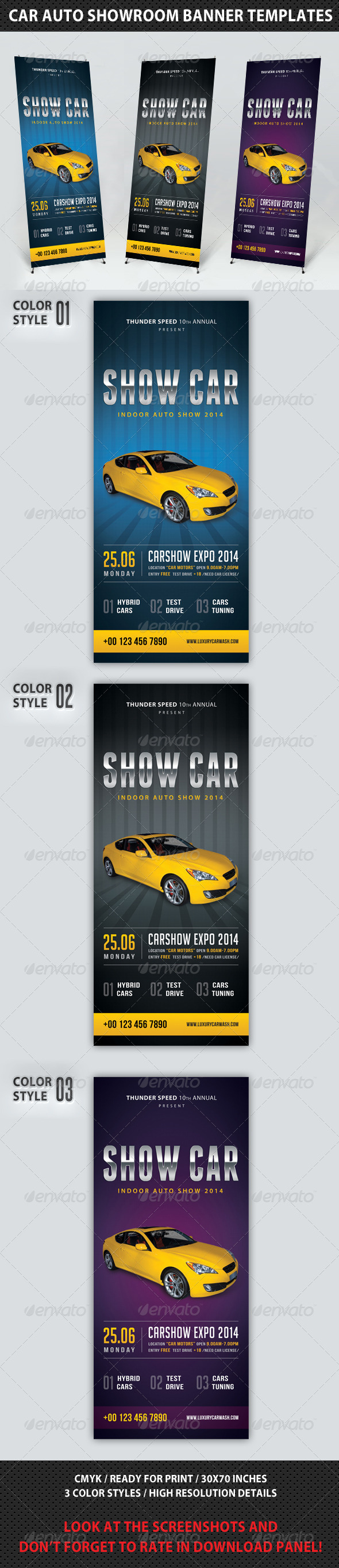 GraphicRiver Auto Showroom Banner Template 8056091