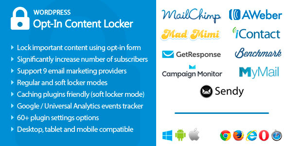 Opt-In Content Locker for WordPress - CodeCanyon Item for Sale