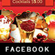 Bistro Brunch Facebook Timeline Cover Template - GraphicRiver Item for Sale