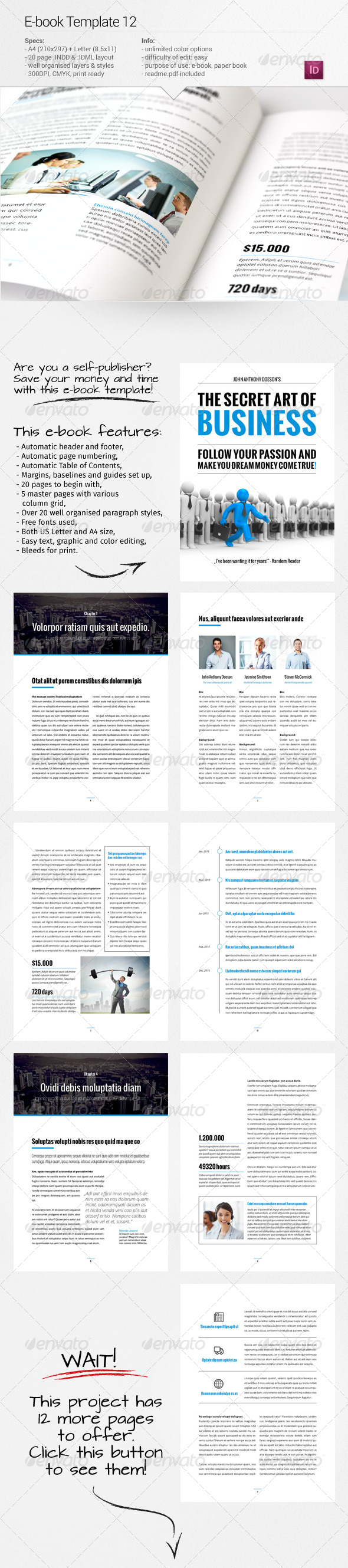 GraphicRiver E-book Template 12 8056306