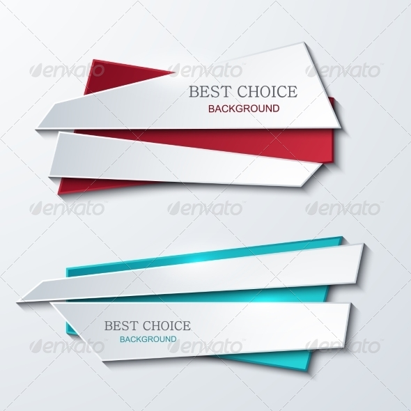 GraphicRiver Vector Modern Banners Element Design 8056317