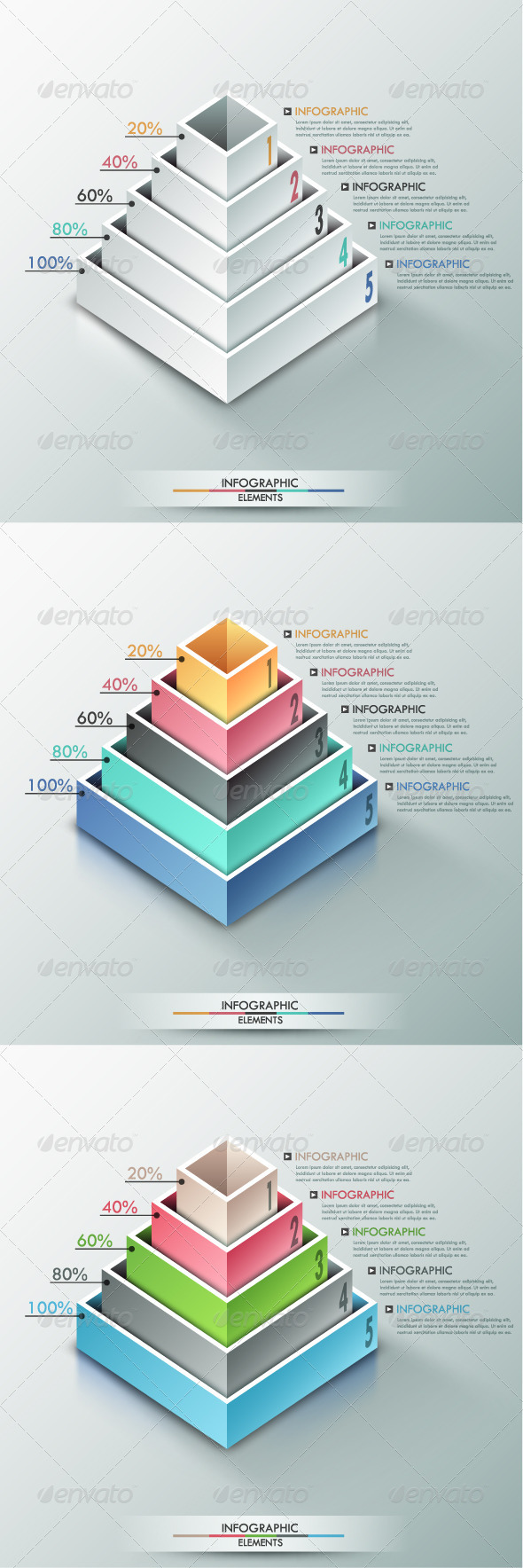 GraphicRiver Modern Infographic Options Banner 3 Versions 8050241