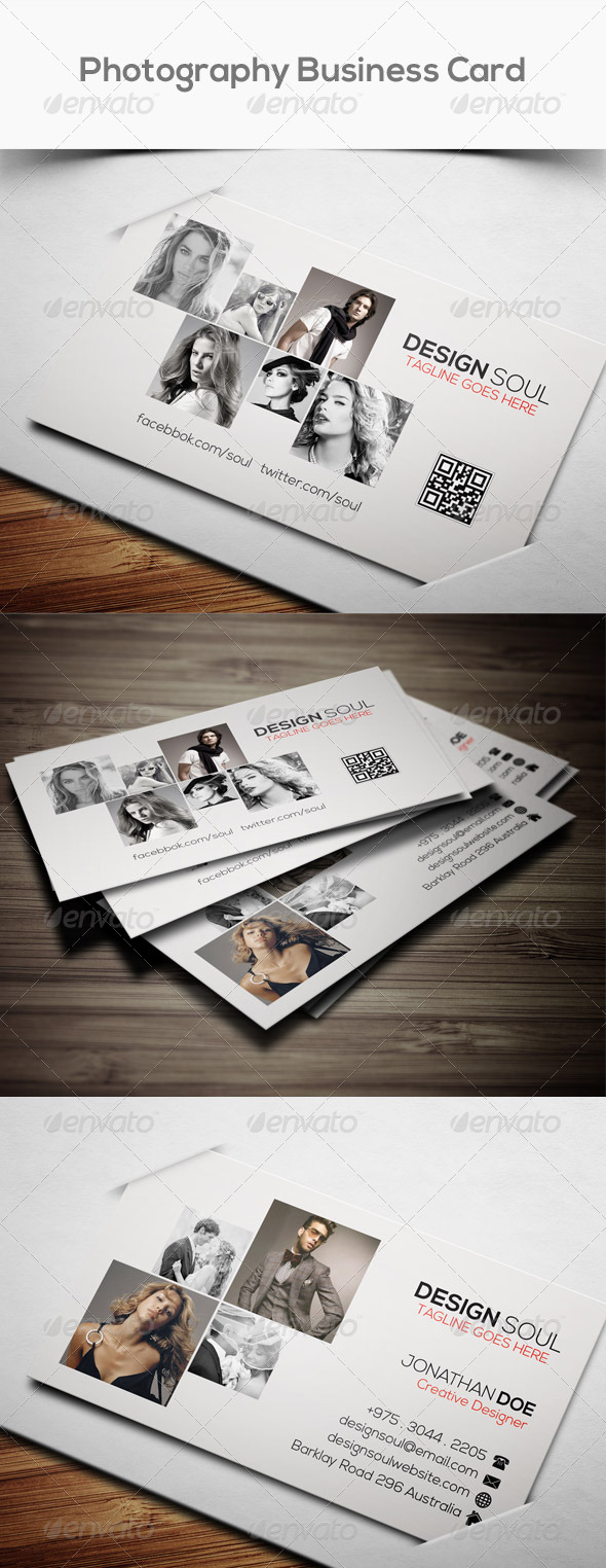 GraphicRiver Photography Pro Business Card 8056371