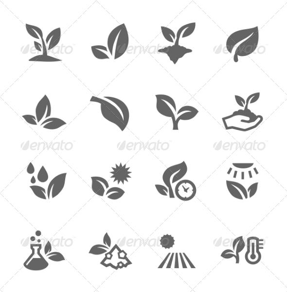 GraphicRiver Plants Icons 8056414