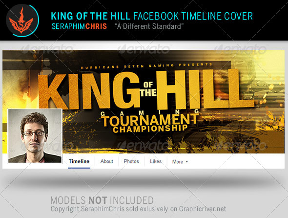 GraphicRiver King of the Hill Facebook Timeline Cover Template 8056435