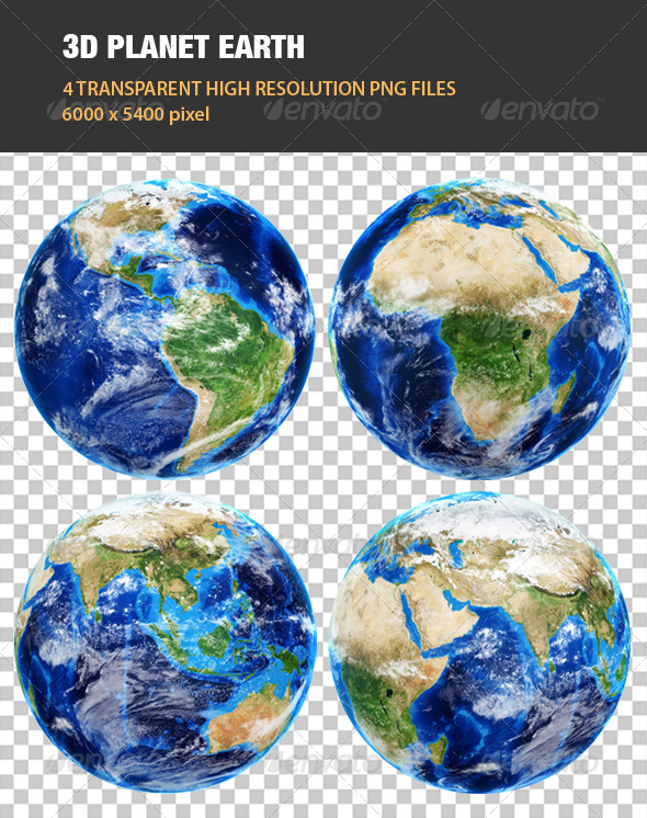GraphicRiver 3D Planet Earth 8056468