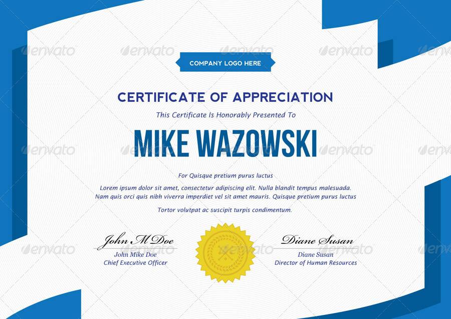 Modern Dynamic Diploma Award Certificate By Bnrcreativelab   GraphicRiver