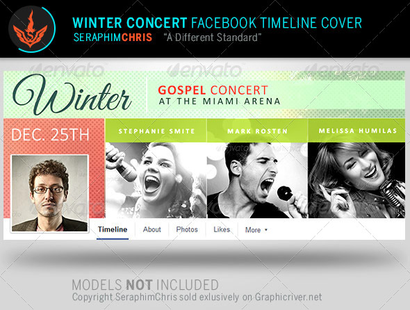 GraphicRiver Winter Concert Facebook Timeline Cover Template 8056715